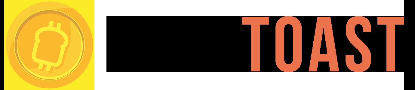 Cryptoast logo fond clair