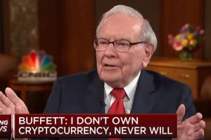 """Warren Buffet : """"Je n'ai pas de cryptomonnaies et je n'en aurai jamais"""""""