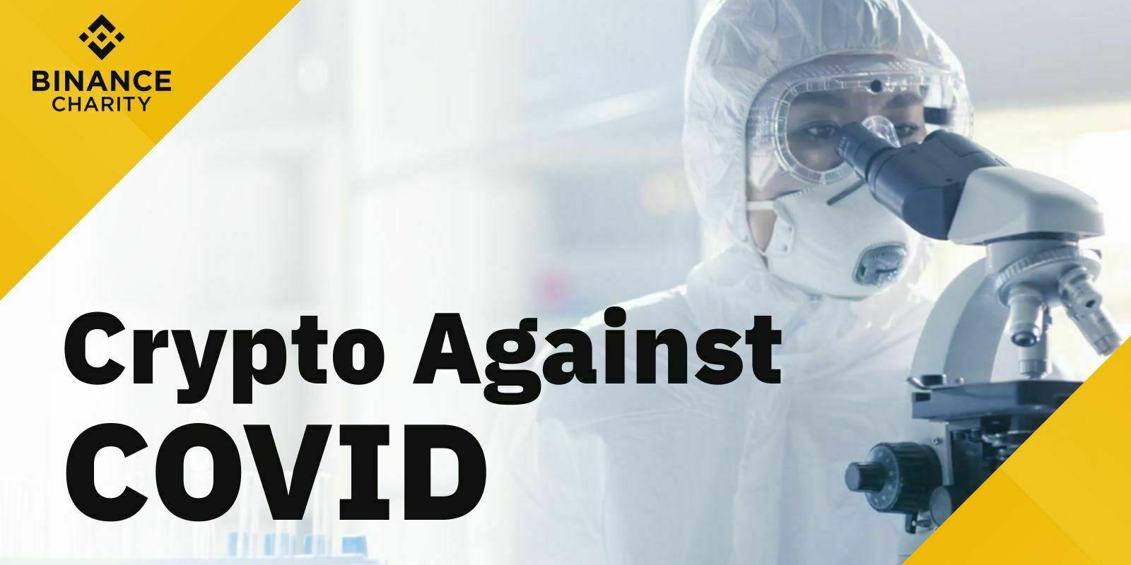 Binance Charity lance une campagne de lutte contre le Covid-19