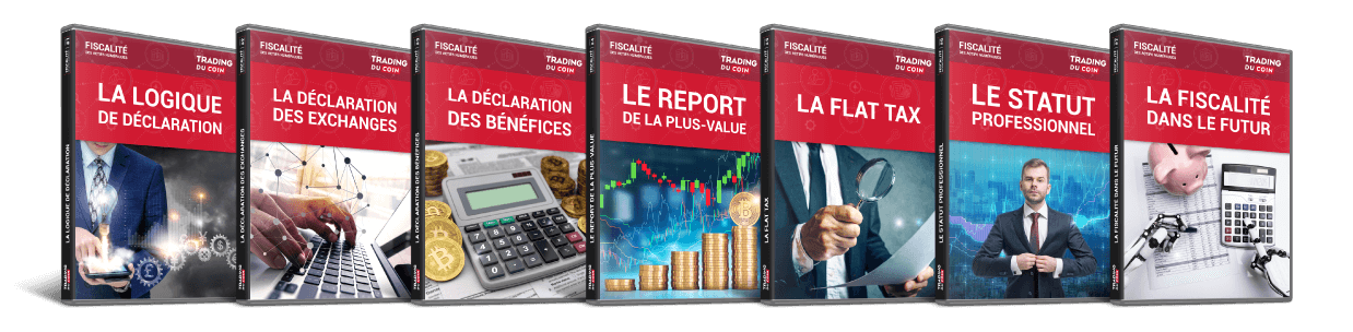 Formation actif fiscalité crypto 7 guides
