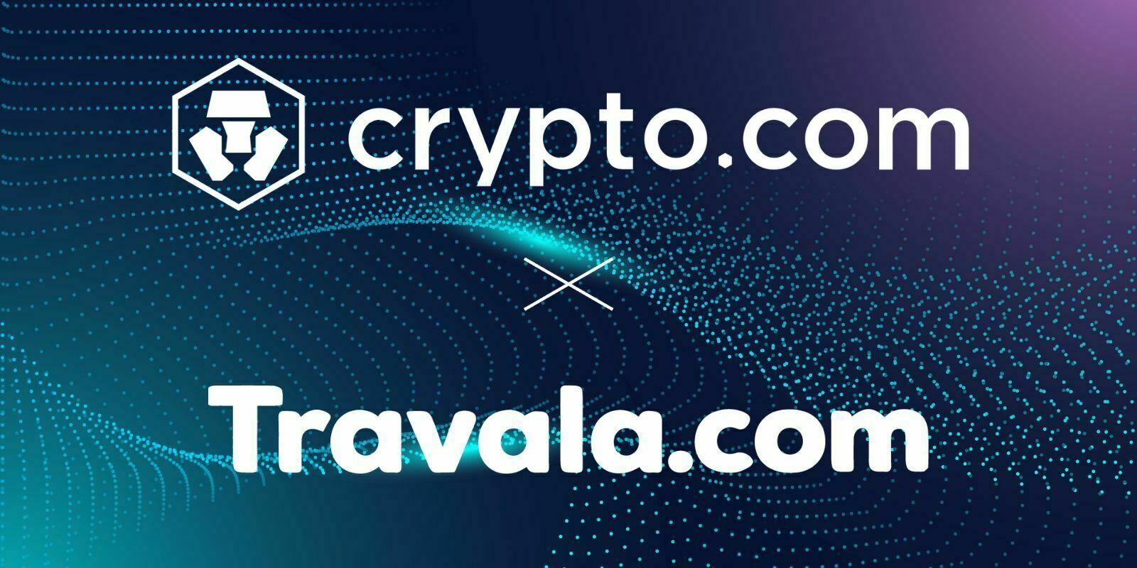 Crypto.com noue un partenariat avec le service de réservation d'hôtel Travala