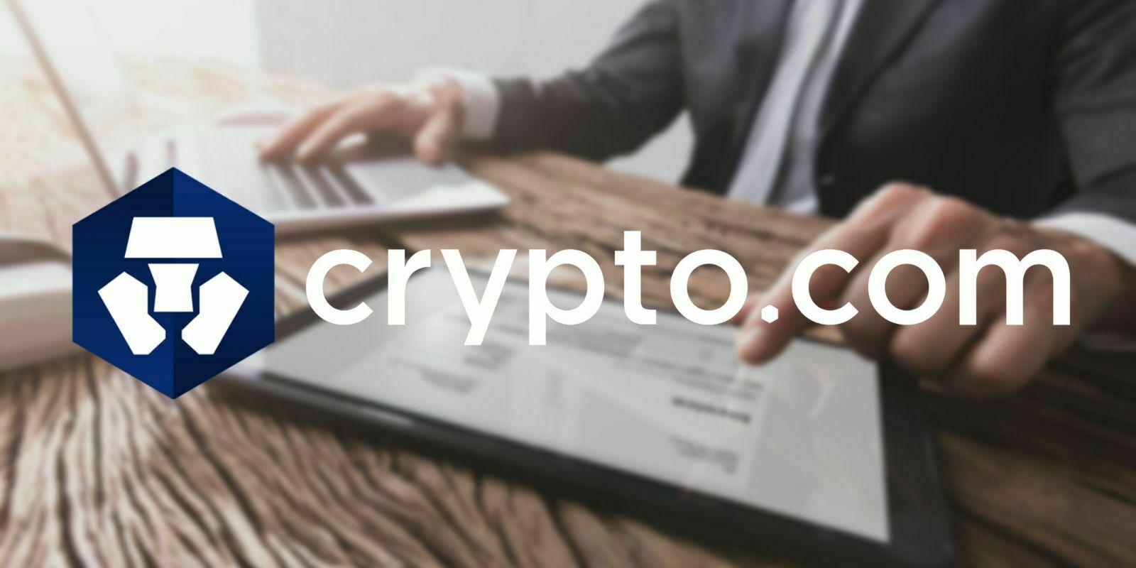 Crypto.com permet la création de factures payables en cryptomonnaies