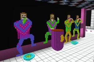 Jeux vidéo cryptos : Cryptovoxels dépasse Decentraland en volume de transactions