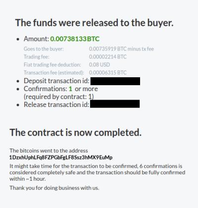 fonds débloqués