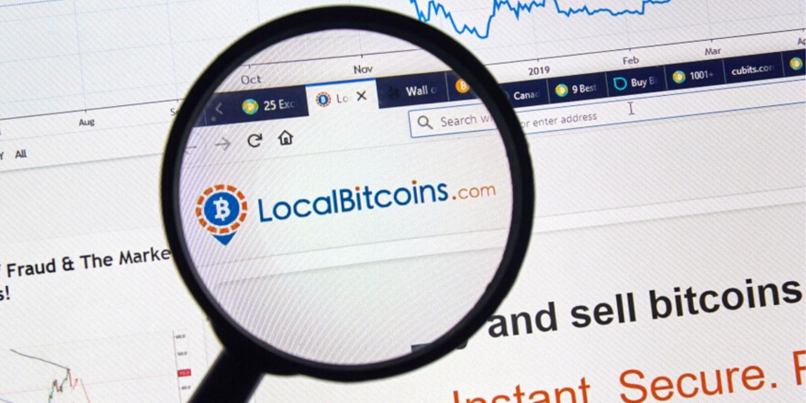 Pourquoi les volumes de transactions de LocalBitcoins sont-ils au plus bas?