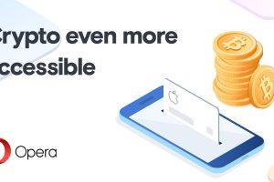 Opera déploie sa fonction d'achat de bitcoins et d'éthers à toute l'UE