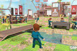 Atari s'associe avec The Sandbox pour y créer un parc à thèmes virtuel