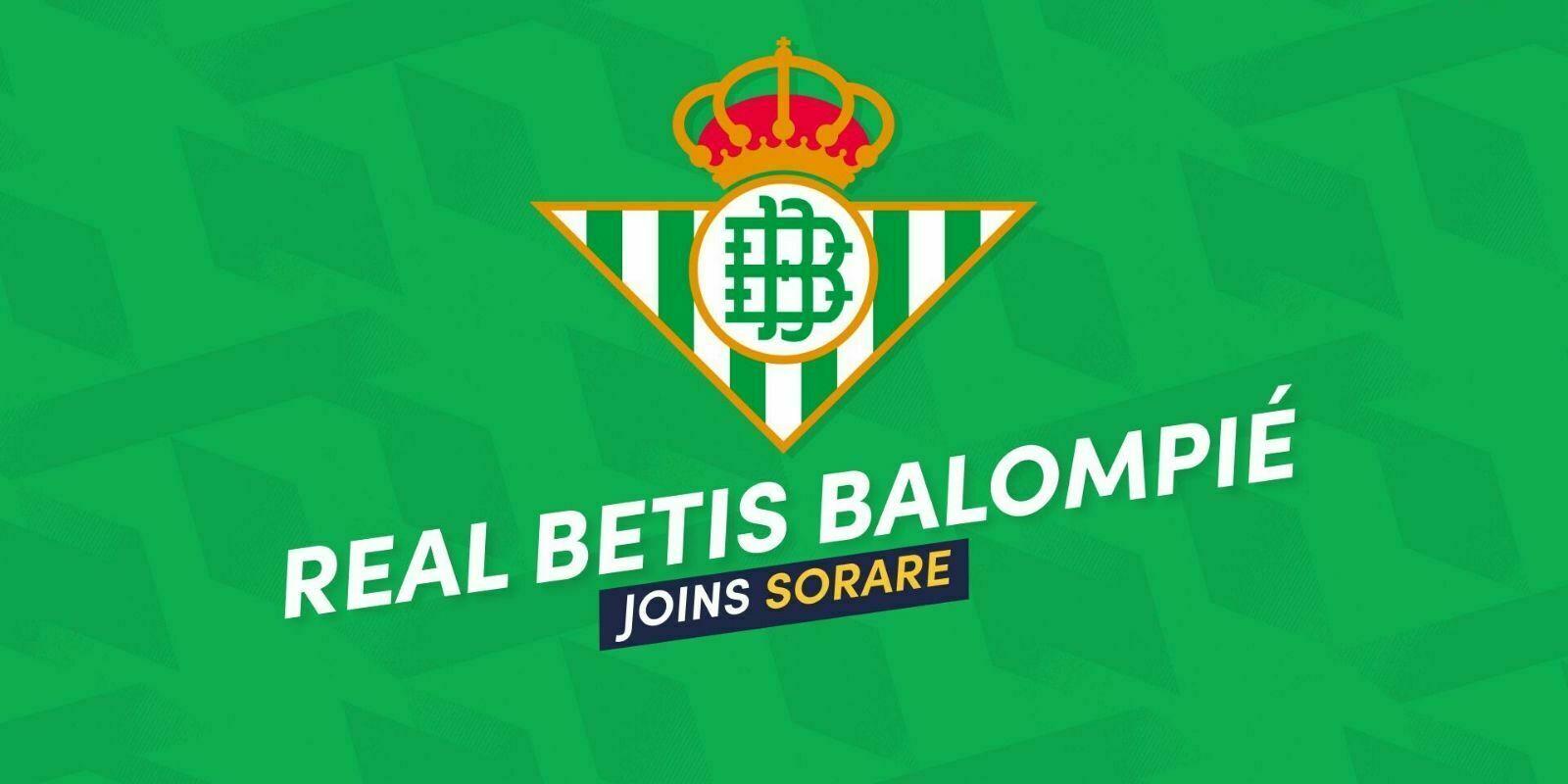 Le Betis Séville rejoint Sorare, le jeu de fantasy football blockchain
