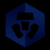 Logo Crypto.com fond transparent