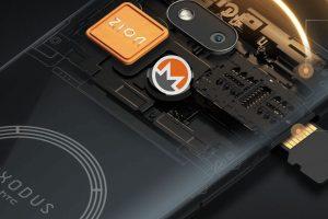 L'Exodus 1s de HTC pourra bientôt miner du Monero (XMR)