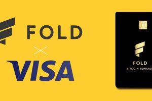Fold s'associe à Visa et lance une carte proposant du cashback en bitcoin