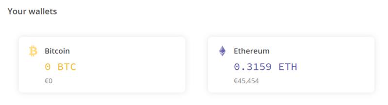 Portefeuilles sur LocalCryptos