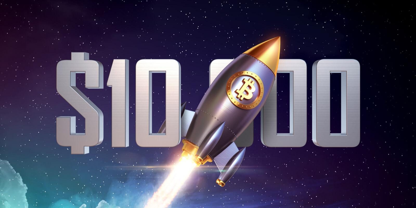 Le Bitcoin de retour aux 10.000$... mais pour combien de temps?