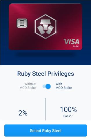 Carte Ruby Steel