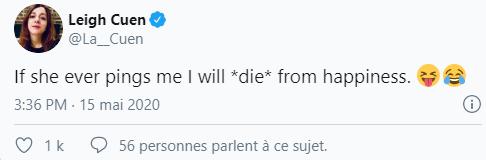Tweet de Leigh Cuen