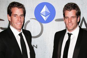 Les frères Winklevoss révèlent leur fortune en Ether (ETH)
