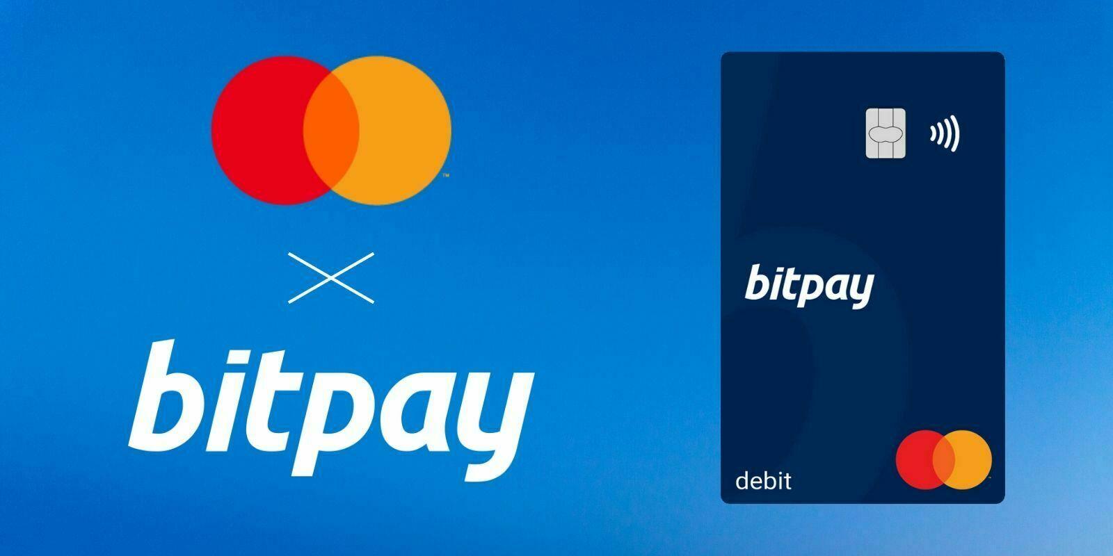 BitPay et MasterCard lancent une carte crypto aux États-Unis