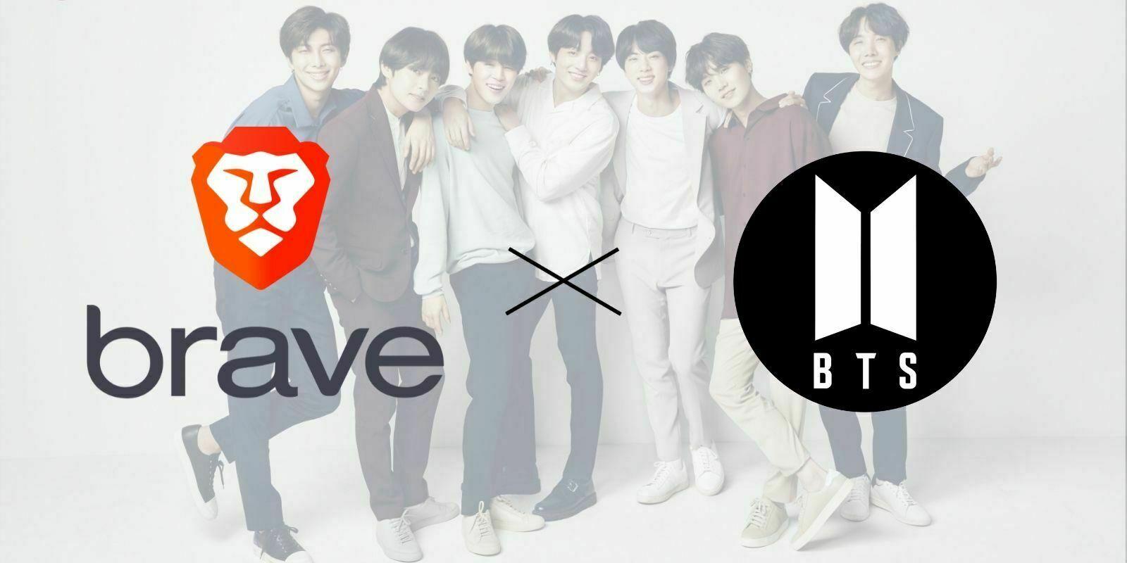 Brave s'associe au groupe BTS pour une édition limitée de son navigateur