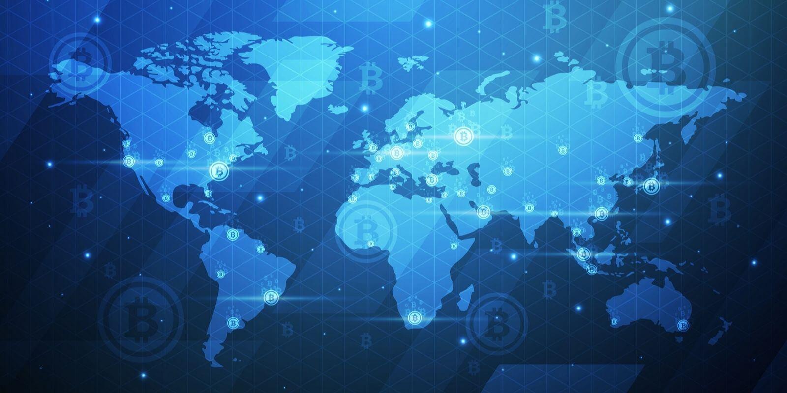 Cette carte interactive révèle quelles sont les cryptos les plus recherchées dans le monde