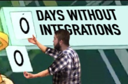 Day without integration