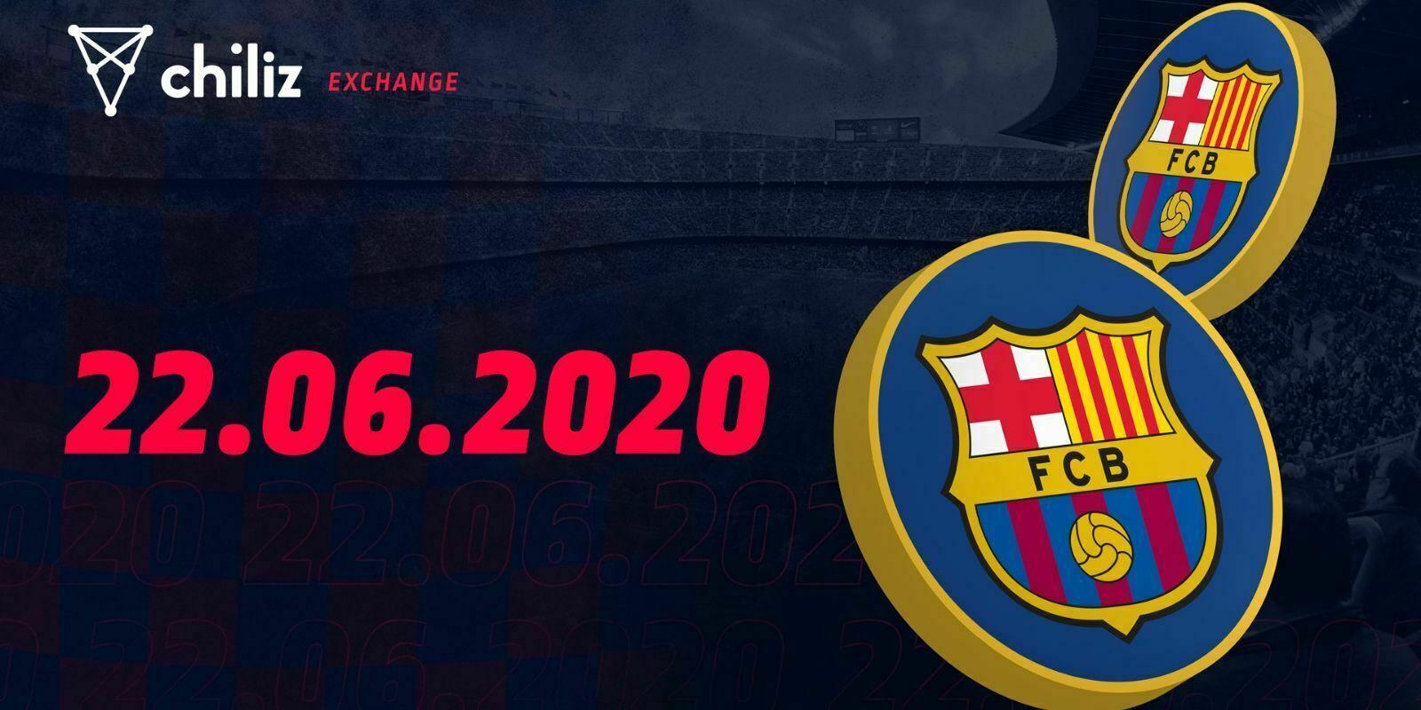 Chiliz offrira les fans tokens du FC Barcelone en vente flash dès lundi