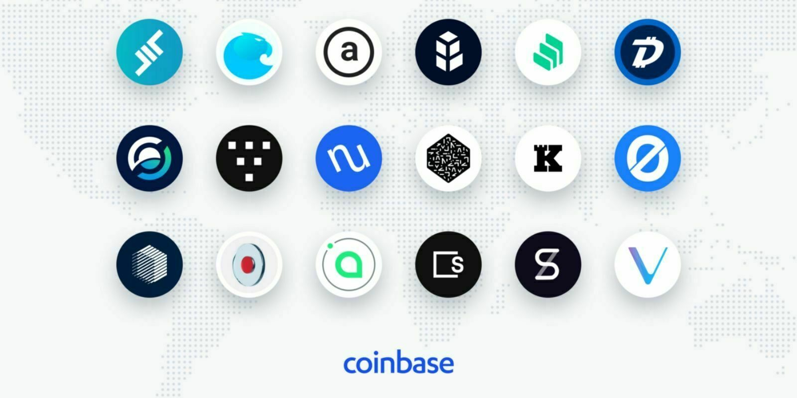 Coinbase envisage la prise en charge de 18 nouvelles cryptomonnaies