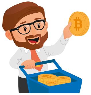 Jean achète des bitcoins