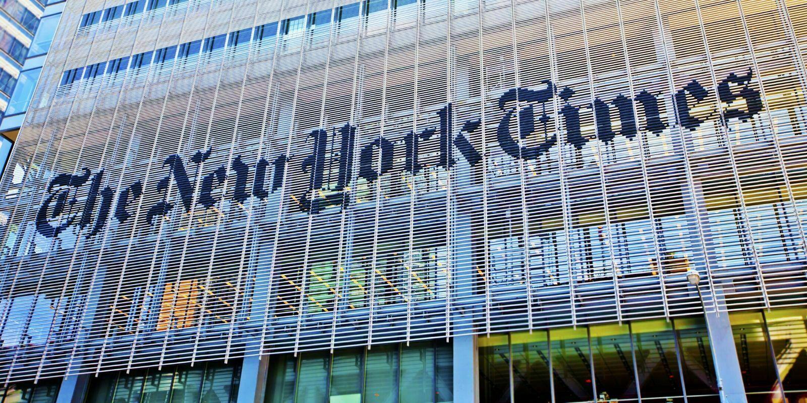 New York Times : premiers résultats pour le projet blockchain anti-fake news
