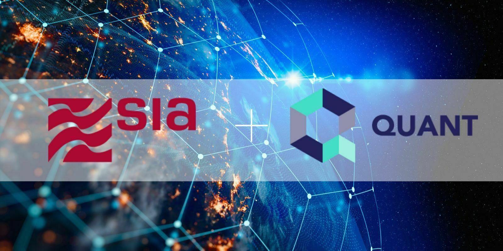 SIA et Quant Network testent avec succès l'interopérabilité de la blockchain