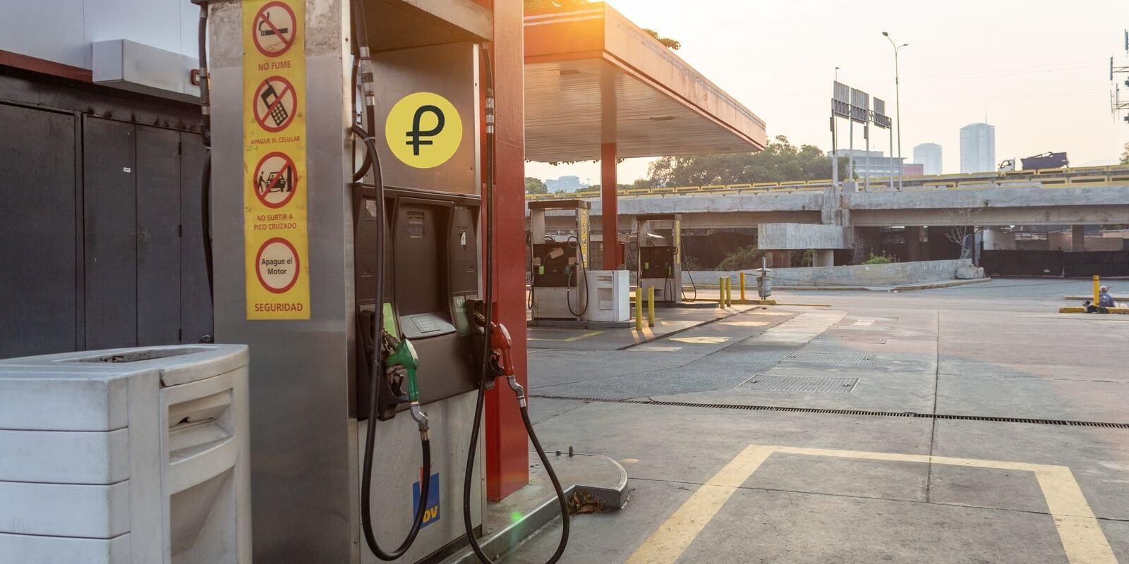 Les Vénézuéliens peuvent maintenant faire leur plein avec du Petro (PTR)