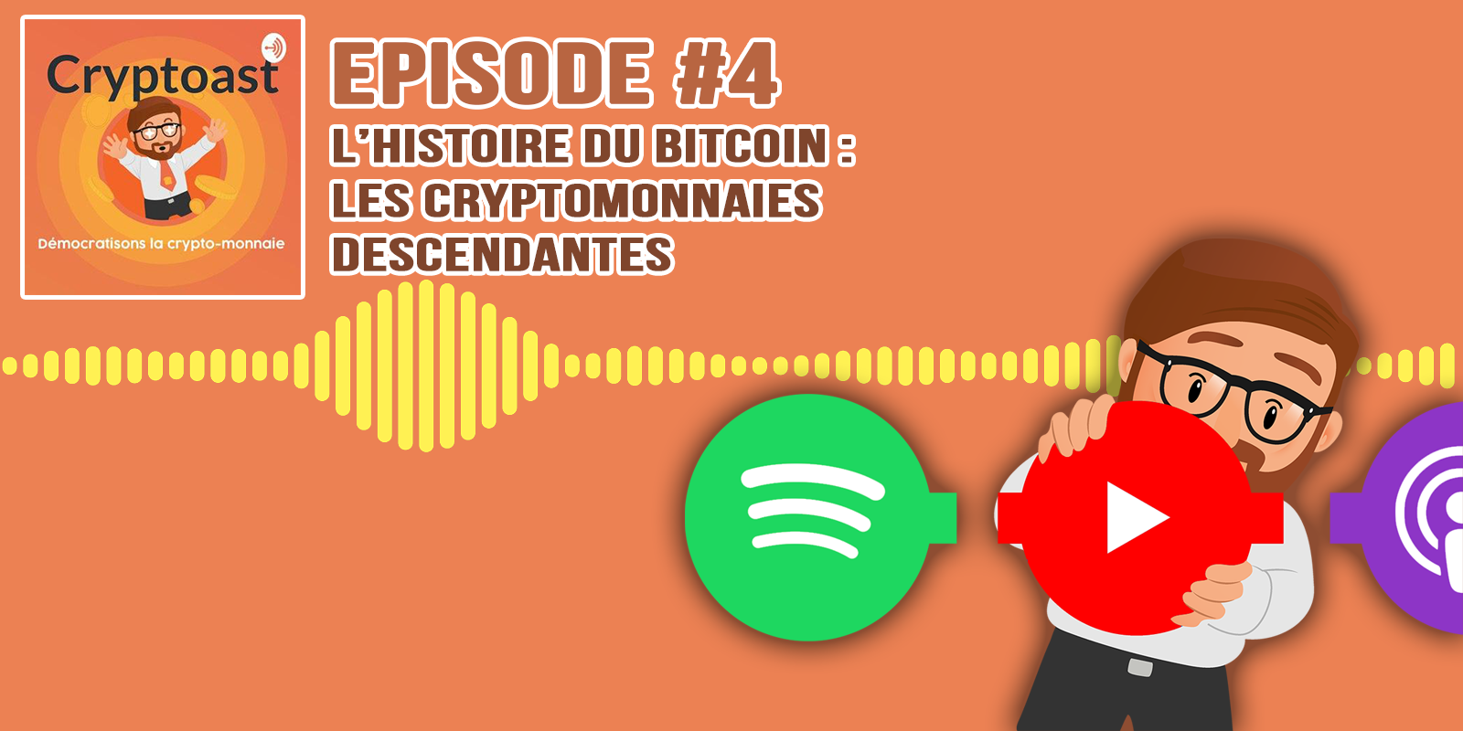 Podcast #4 - Les cryptomonnaies descendantes du Bitcoin