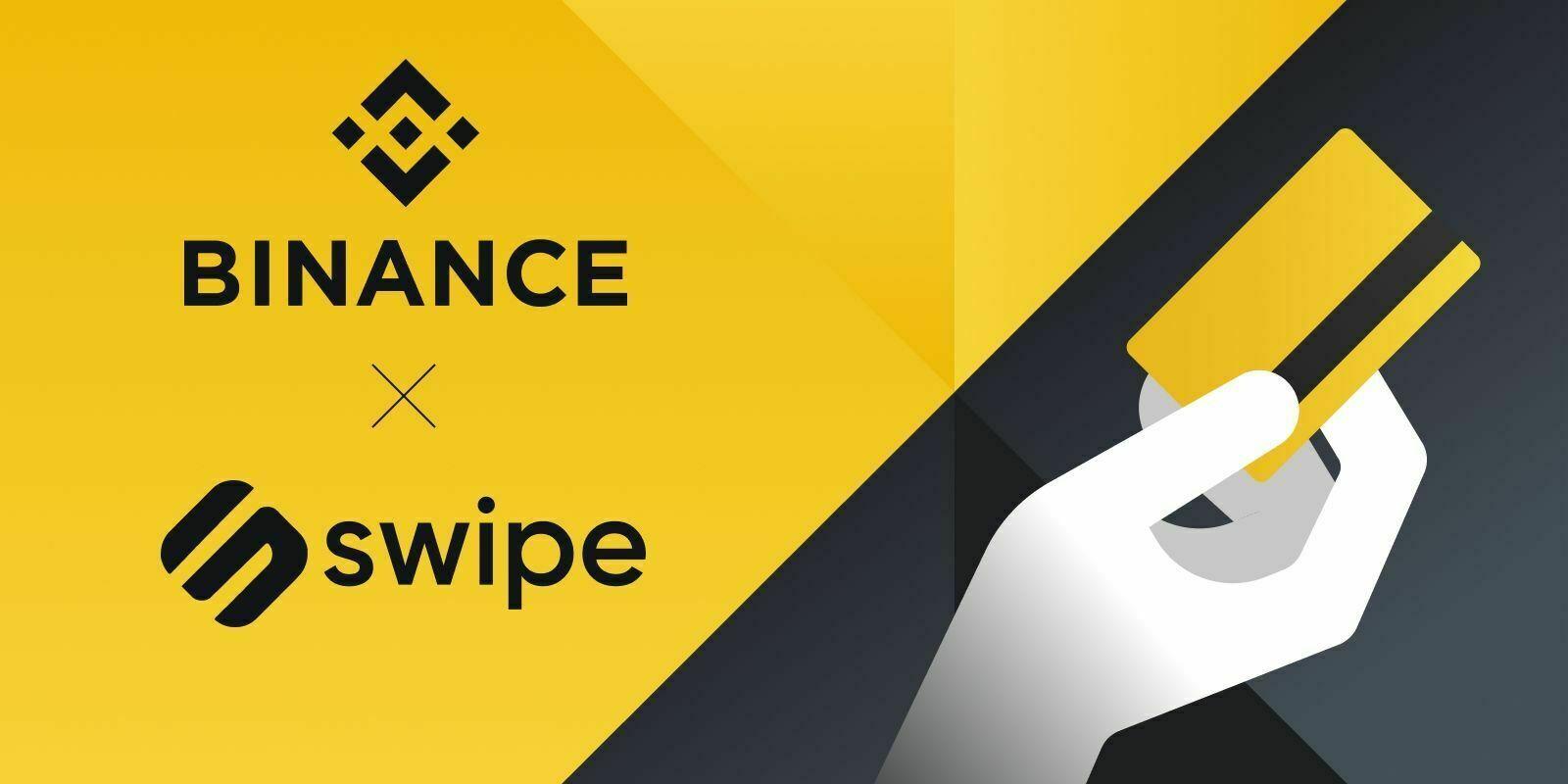 Binance acquiert Swipe, un fournisseur de cartes de débit crypto
