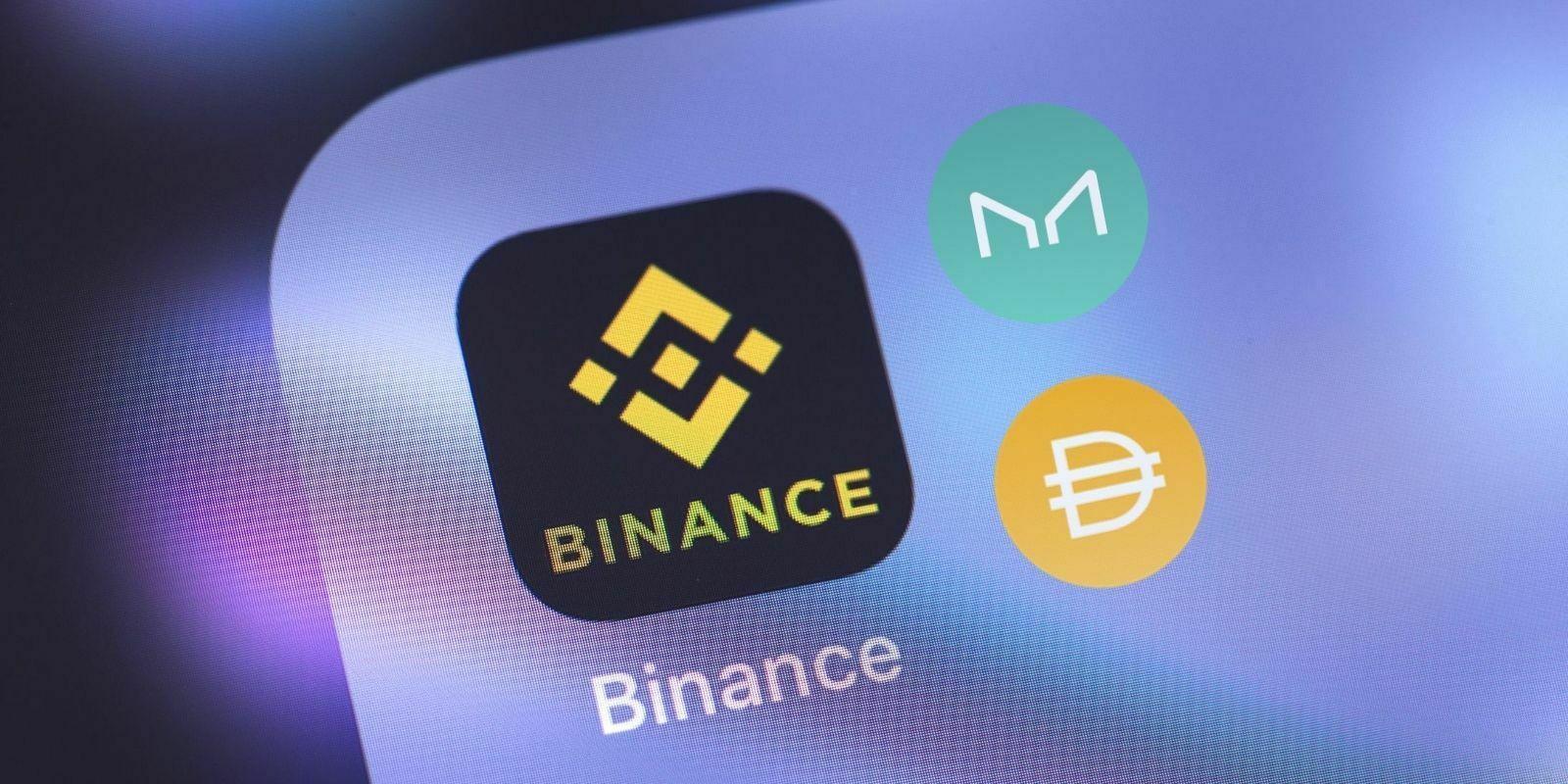 Binance ajoute le token de la DeFi Maker (MKR) et le stablecoin Dai