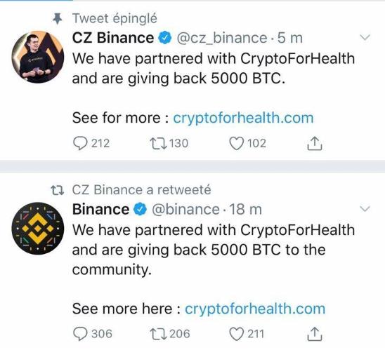 Binance Hack Twitter