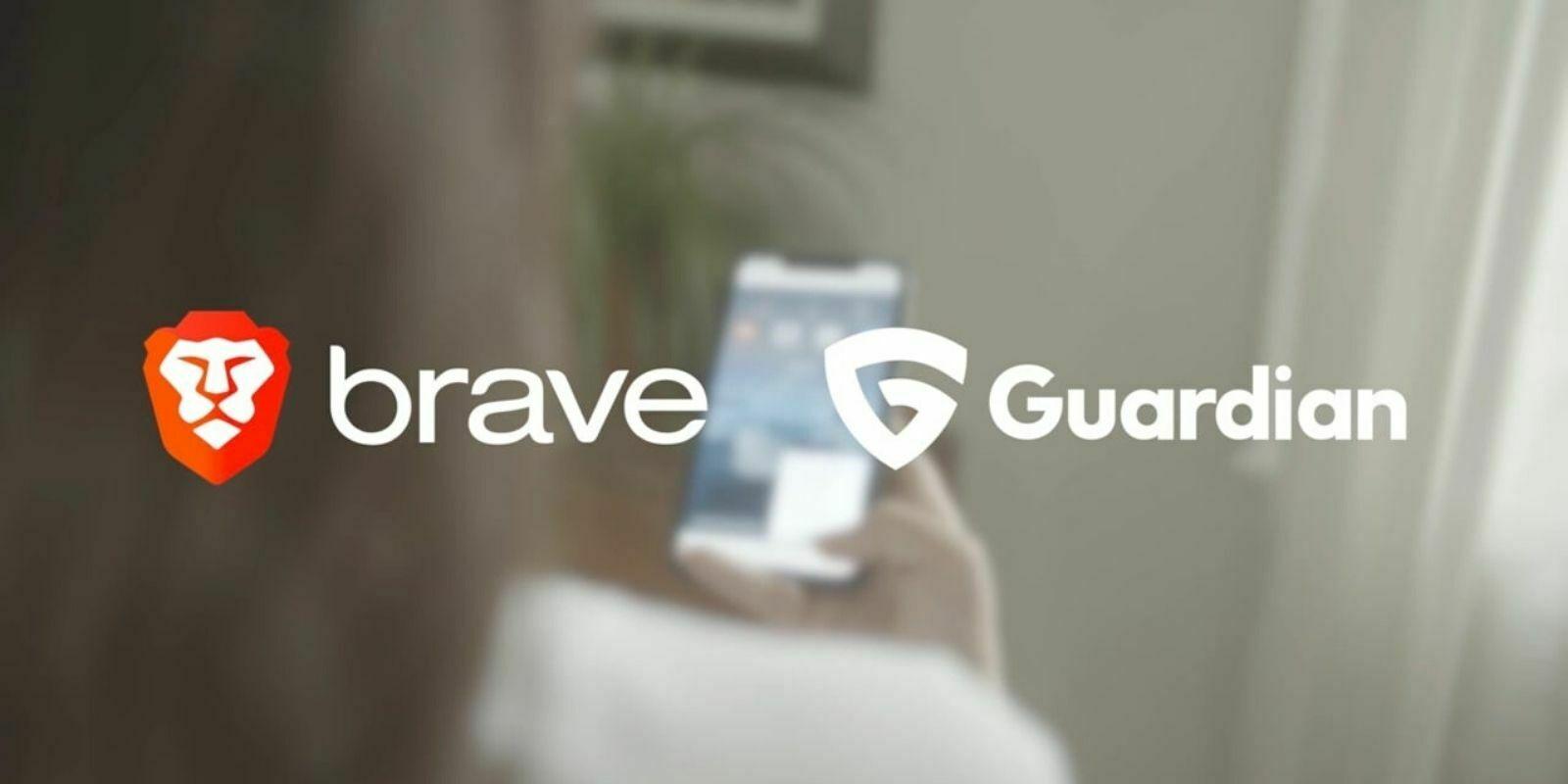 Brave s'associe à Guardian pour intégrer un pare-feu et un VPN sur iOS