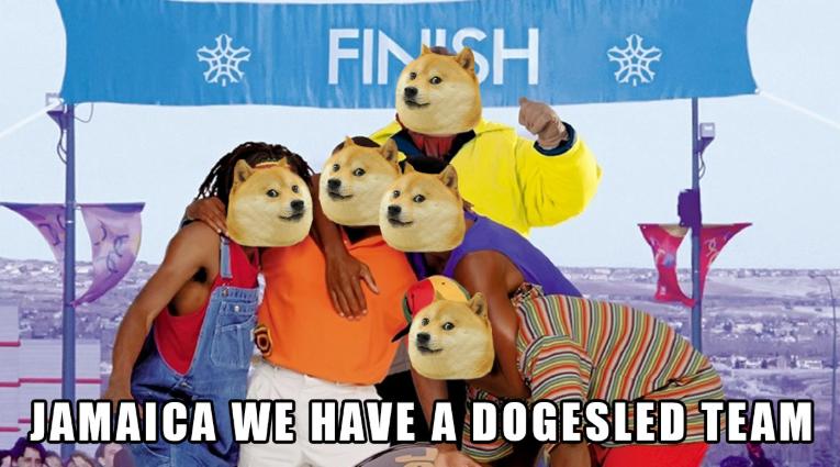 Dogecoin Rasta Rockett