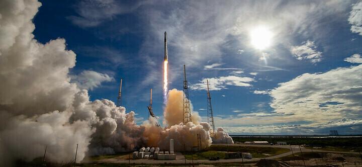 Lancement fusée SpaceX