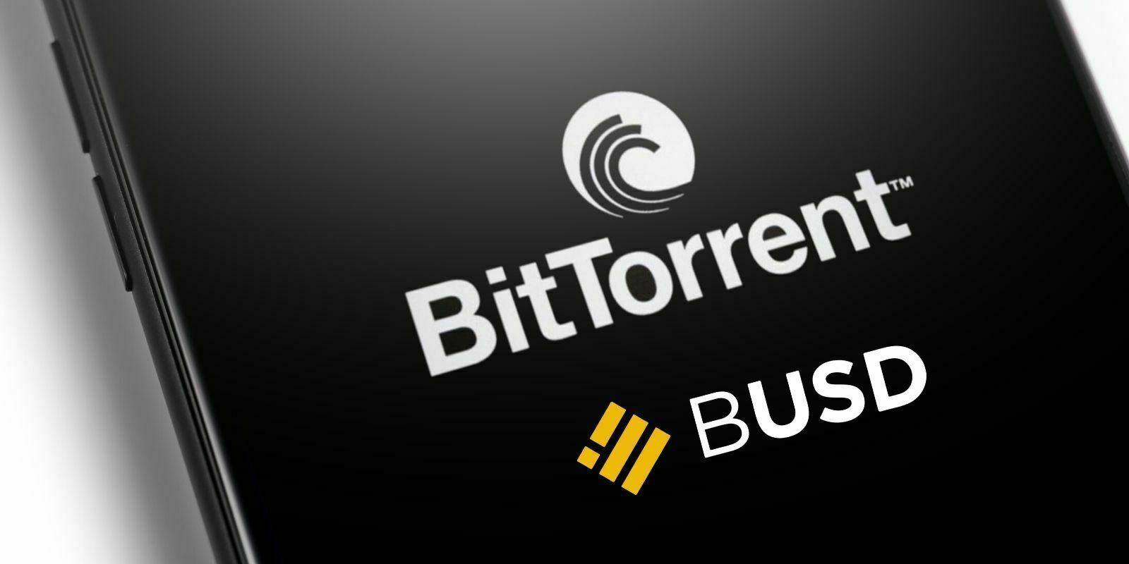 Le BUSD de Binance débarque sur BitTorrent comme option de paiement