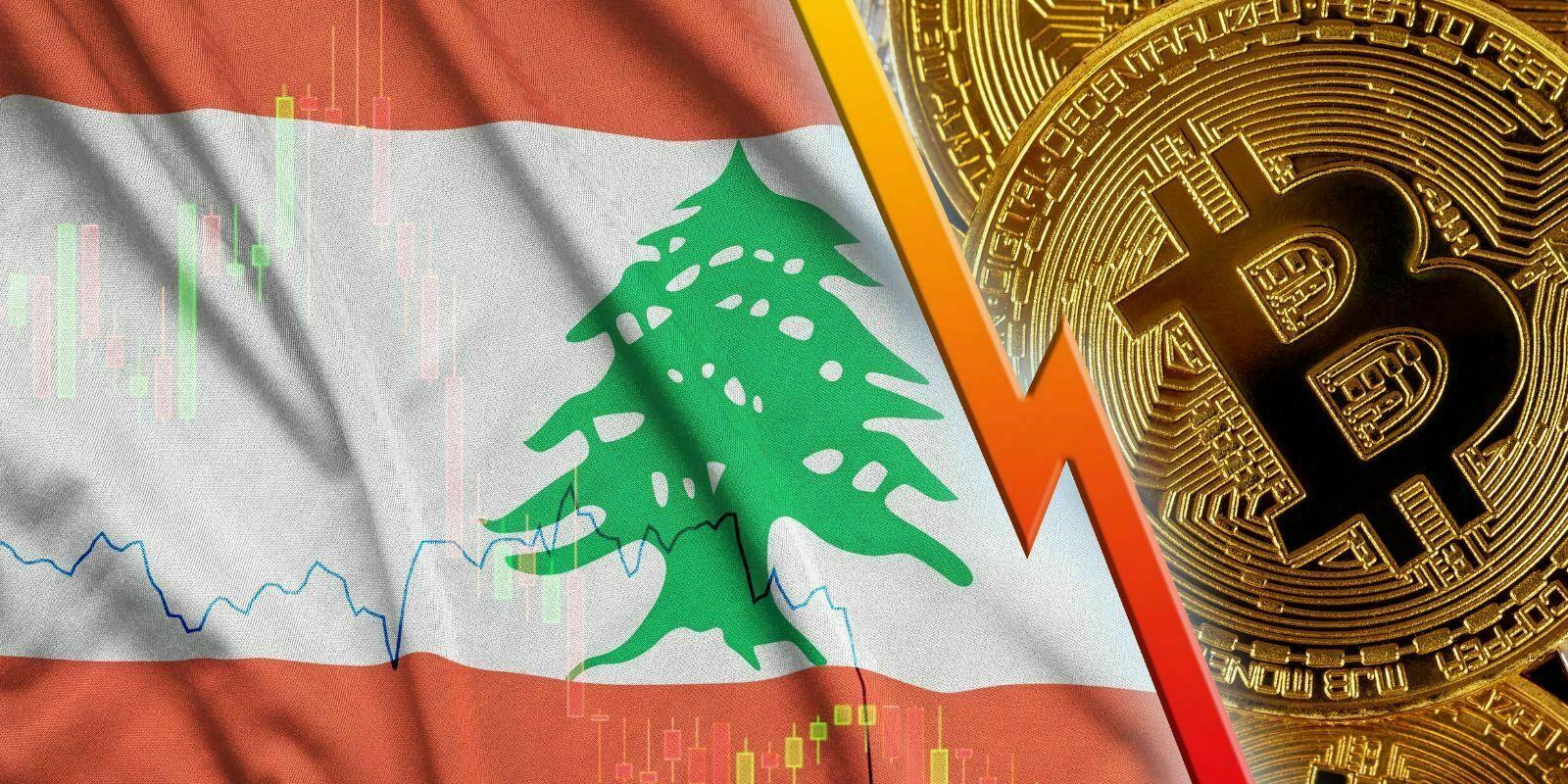 La livre libanaise chute de 50% en dix jours et atteint la valeur d'un satoshi