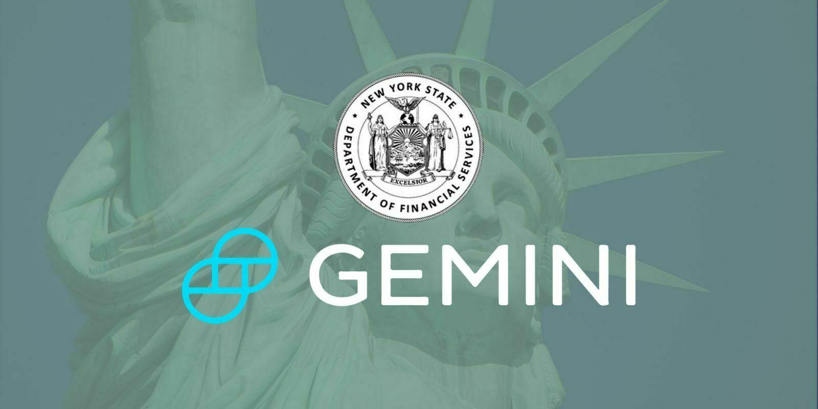 New York : Gemini soutient la licence conditionnelle relative à la BitLicense