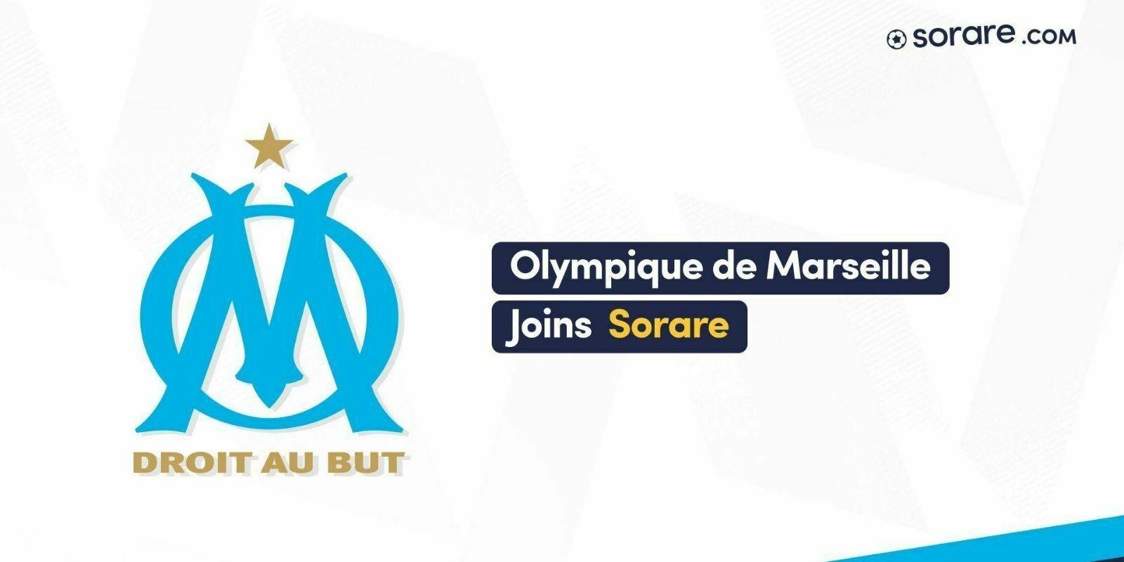 L'Olympique de Marseille arrive sur la blockchain avec le jeu Sorare