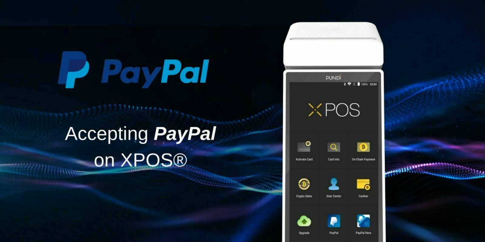 Pundi X supporte désormais PayPal sur ses terminaux de paiement XPOS