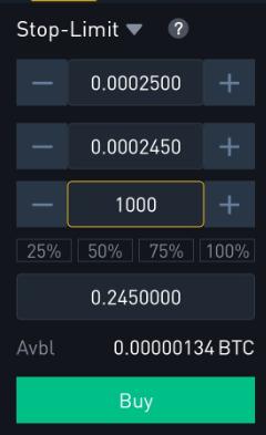 Ordre stop-limit