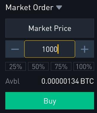 Ordre market