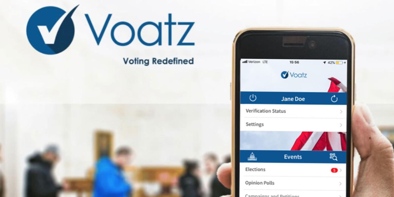 vote blockchain voatz