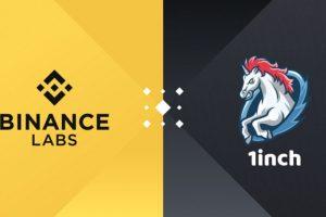 L'agrégateur de DEX 1inch lève $2,8M auprès de Binance Labs et d'autres