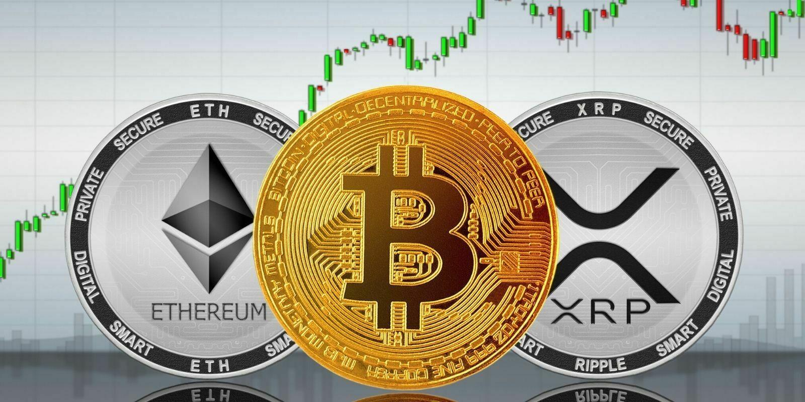 Le Bitcoin (BTC) de retour vers les 12 000$, l'Ether et le XRP performent