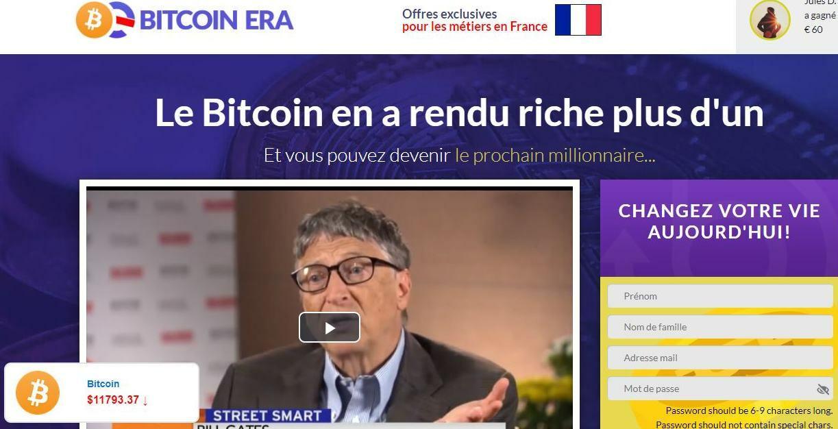 Bitcoin Era arnaque scam