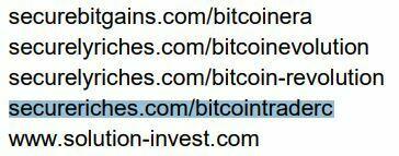 Bitcoin Trader AMF arnaque