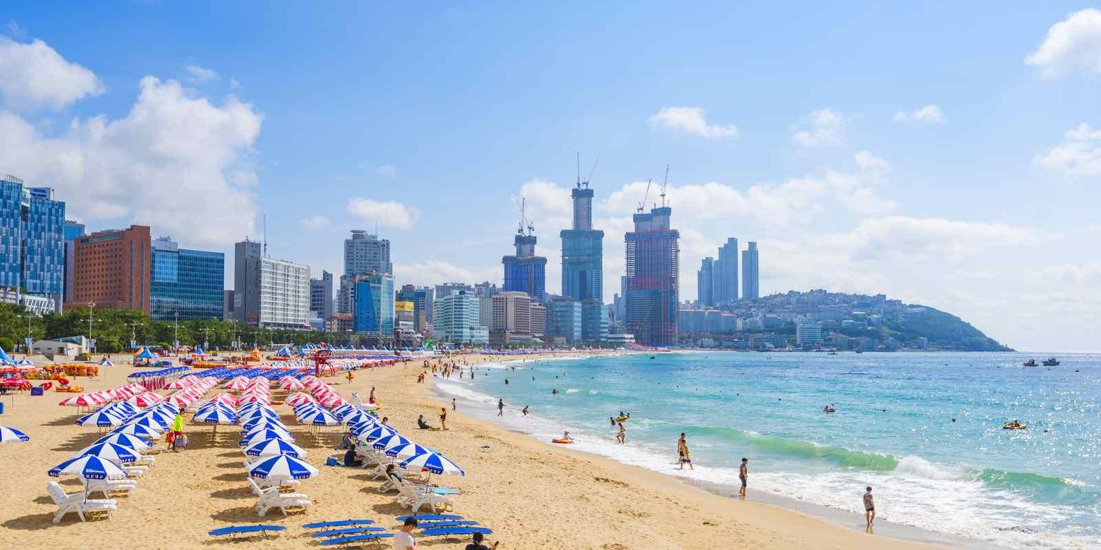 Les plages de Corée du Sud bientôt compatibles avec Bitcoin et Ethereum